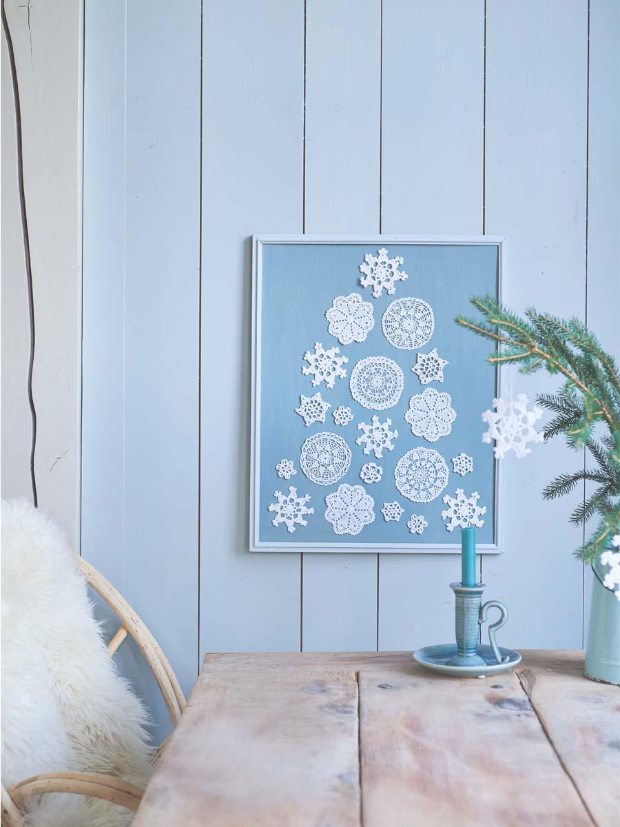 Kerst in ijsblauw - Mieke Floore Styling